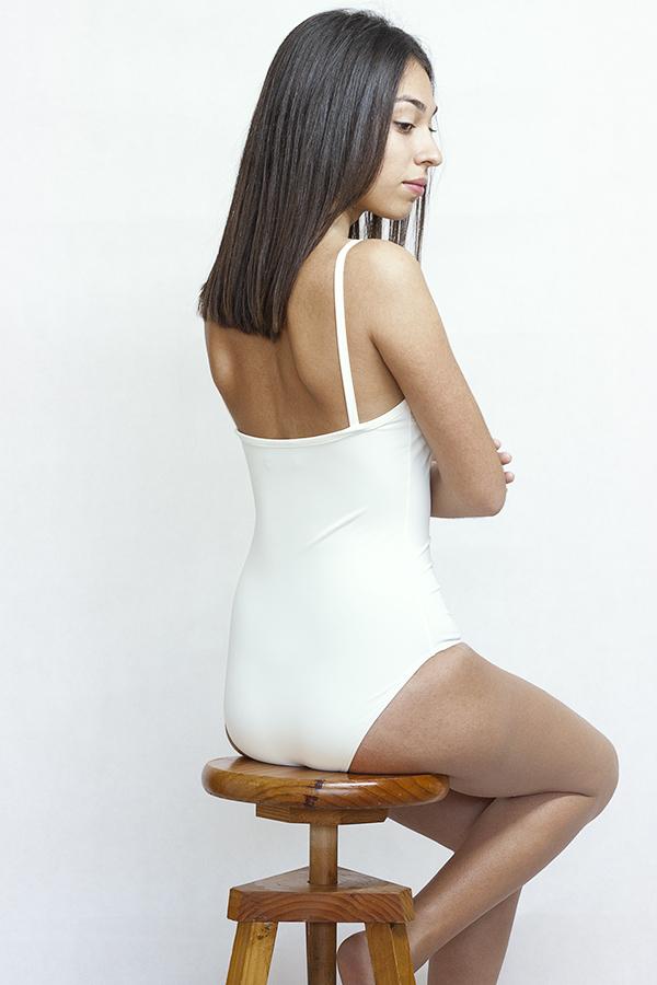 White one piece swimsuit - ILOVEBELOVE