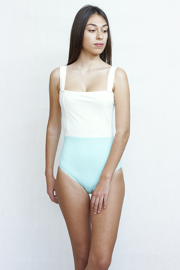 Retro swimsuit - ILOVEBELOVE