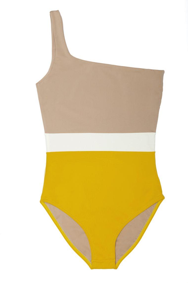 One shoulder swimsuit - ILOVEBELOVE