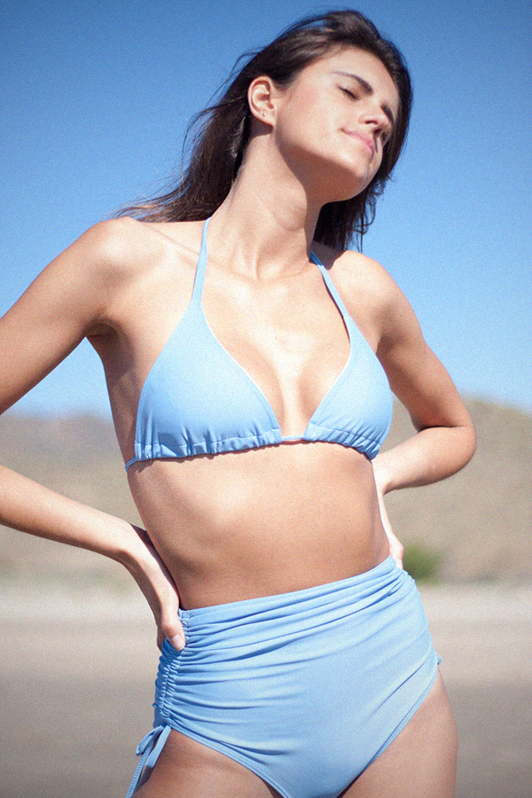 Bikini sky blue mix