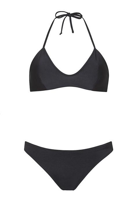 Black knotted bikini - ILOVEBELOVE