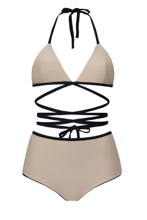 The Wrap Triangle Top - high bottom - ILOVEBELOVE