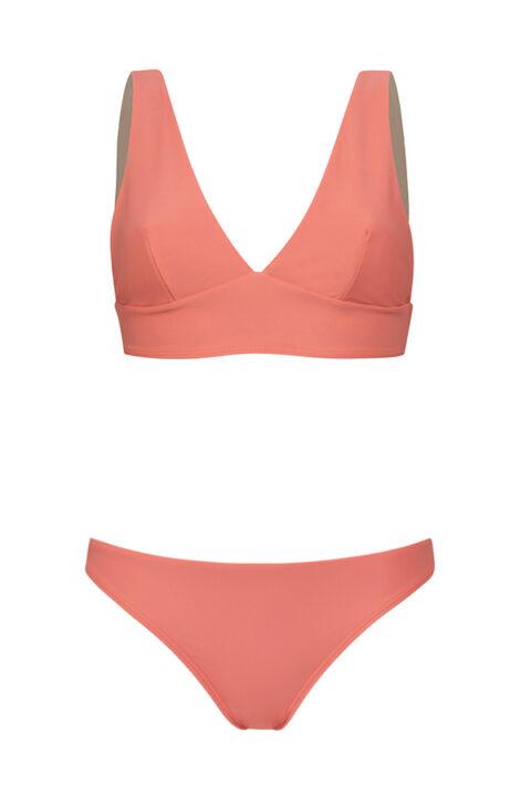 Comfy Pink bikini - low bottom - ILOVEBELOVE