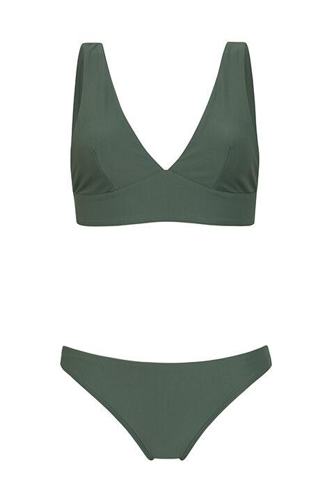 Comfy Green bikini -low bottom - ILOVEBELOVE